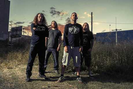 Psycroptic have chosen to stop in on Byron Bay as part of their 15 date tour around the country.