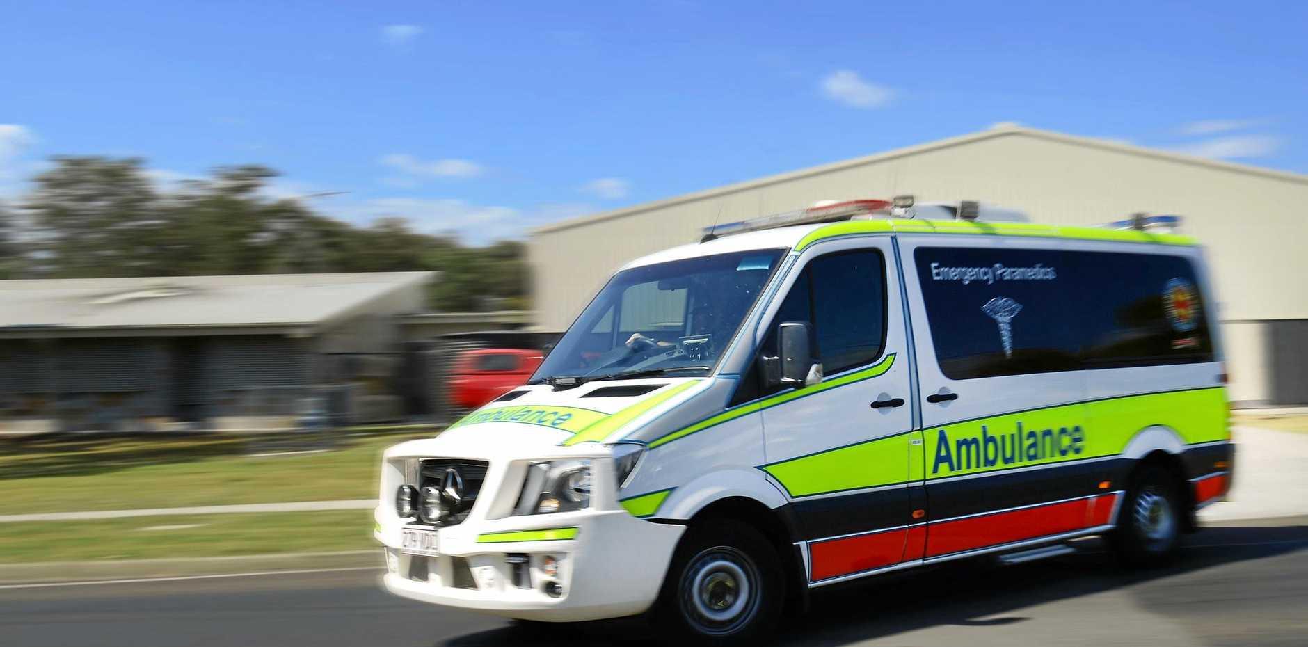 Queensland Ambulance Service paramedics have been called to a motorcycle crash on Botha Street at Blacks Beach.