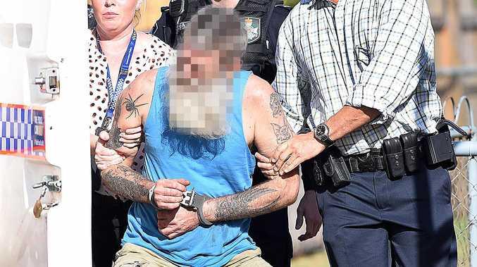 ARMED SIEGE: Man dances when arrested after police standoff