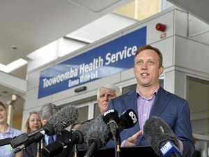 Toowoomba Hospital announcement