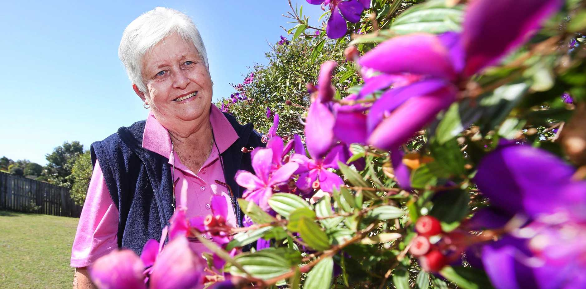 BLOOMING BEAUTIFUL: Monika  Ross is getting ready for the Twin Towns Garden Show this weekend.