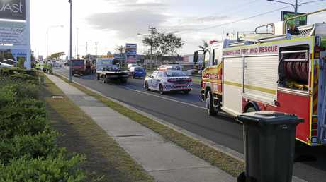 Crash on Boat Harbour Drive just after 4.30pm on Tuesday.