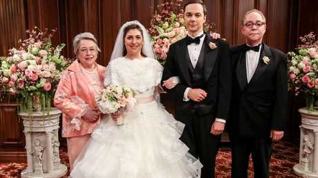 Sheldon and Amy got married at the end of last season. Picture: CBS
