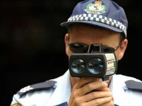 Speed evasion devices are used to interfere with measuring devices. Picture: Matthew Sullivan