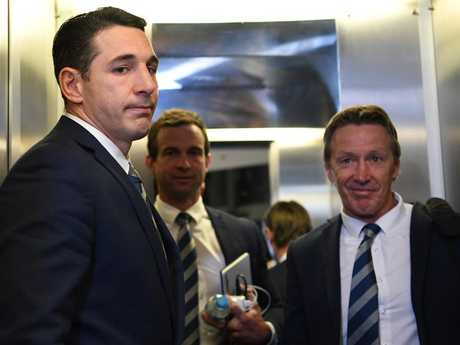 Slater was stonefaced after the decision, but Storm coach Craig Bellamy was pleased.
