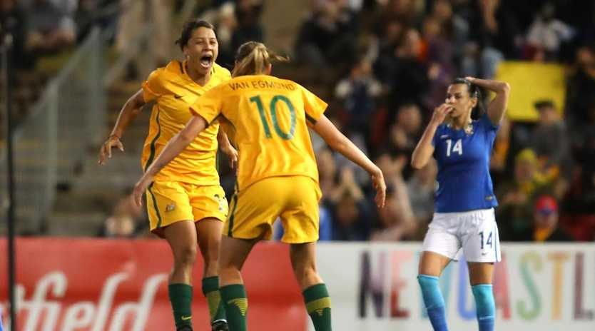 The Matildas have named an under-strength line-up to face France and England.