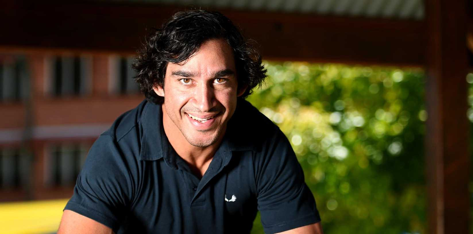Johnathan Thurston believes Cooper Cronk will put his team first, as he battles to be fit for the NRL Grand Final. Picture: Alix Sweeney