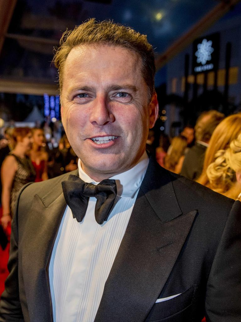 Karl Stefanovic at the Logies. Picture: Jerad Williams