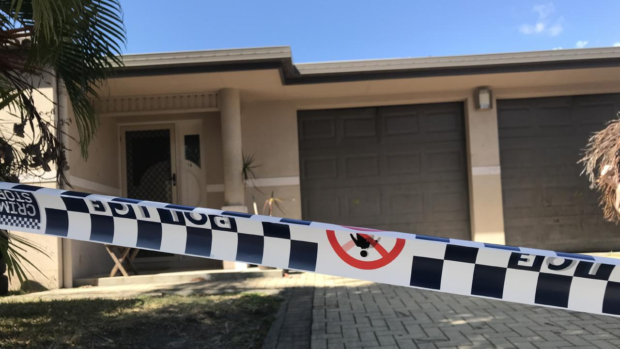 A crime scene has been established after a 13-month-old boy died after authorities were called to a White Rock home. Picture: Peter Michael