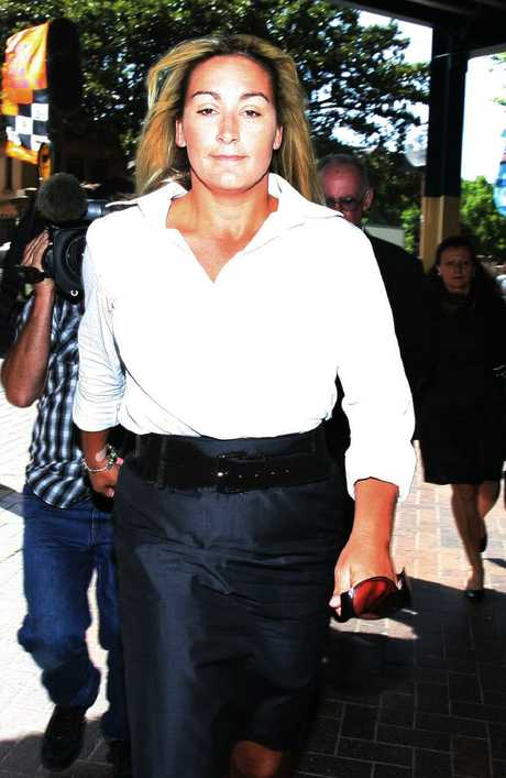 Keli Lane arrives at the NSW Supreme Court for her murder trial in 2010. Picture: NewsCorp