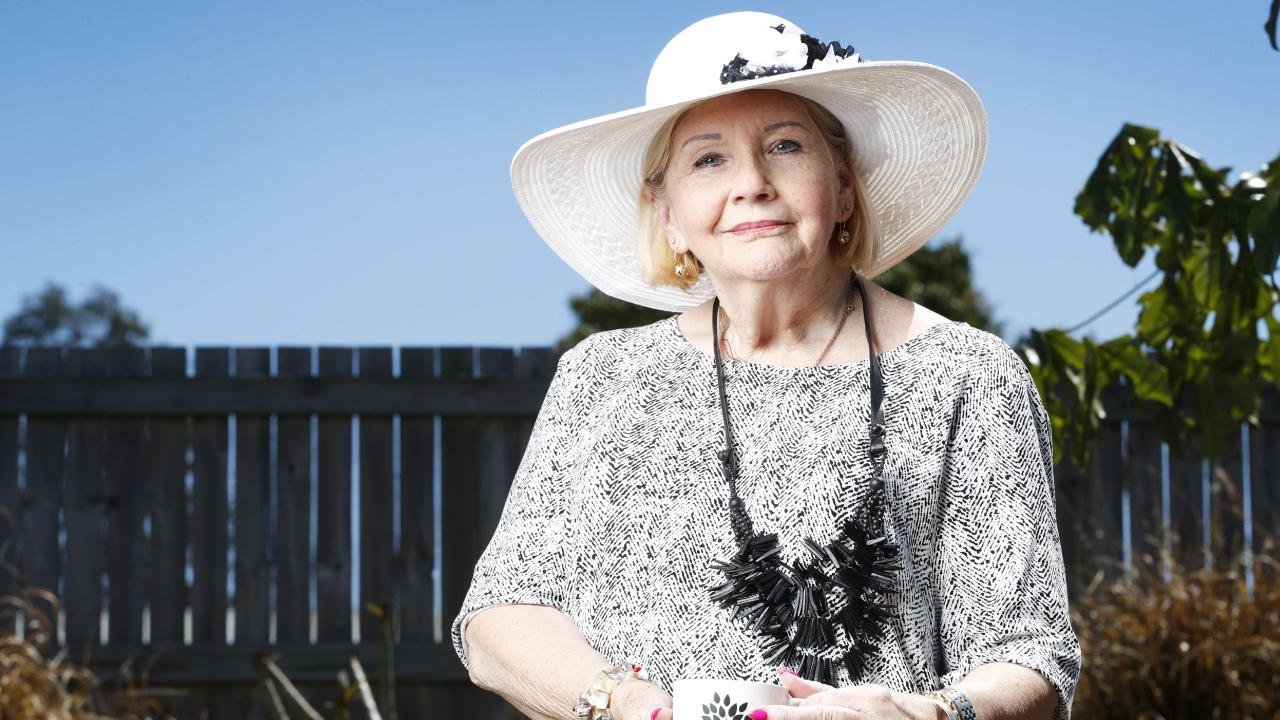 Lowood Resident Toni Woodward has had melanoma cancers twice and has to be very careful spending time outside. Picture: Lachie Millard