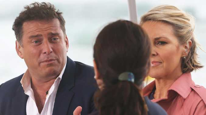 Karl Stefanovic is under incredible pressure after two years of horror publicity and a decline in Today's ratings. Picture: Glenn Hampson