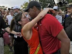 Tiger's 'gold digger' girlfriend