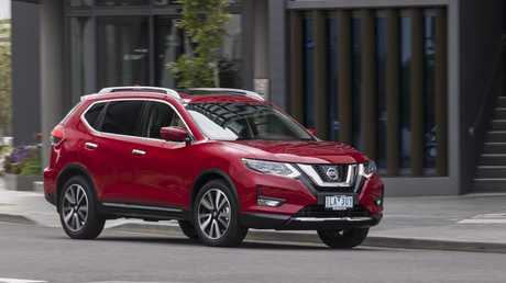 The Nissan X-Trail TL is let down by its high price.