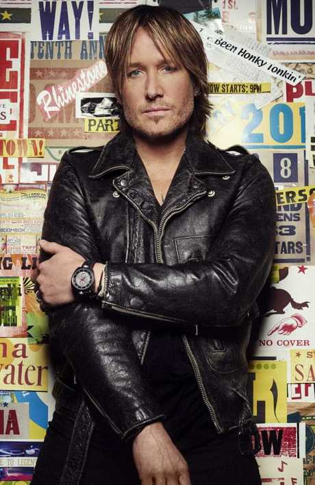 Australian singer Keith Urban will return home to host the ARIAs. Picture: Supplied