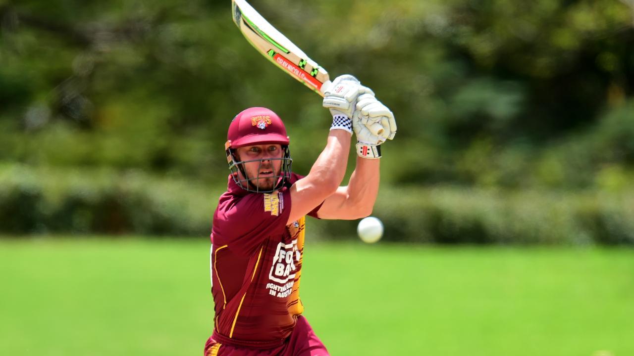 Chris Lynn scored his maiden ODI ton against South Australia. Picture: Evan Morgan