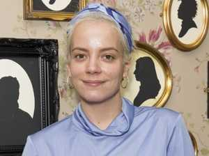 Lily Allen's final encounter with doomed star