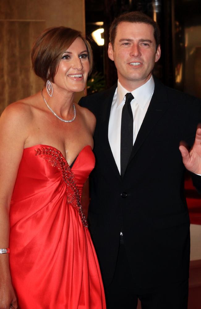 Karl Stefanovic's marriage to Cassandra Thorburn broke down at the end of 2016.