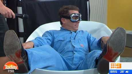 Karl Stefanovic was reportedly sick of the gimmicky segments that come with breakfast TV.