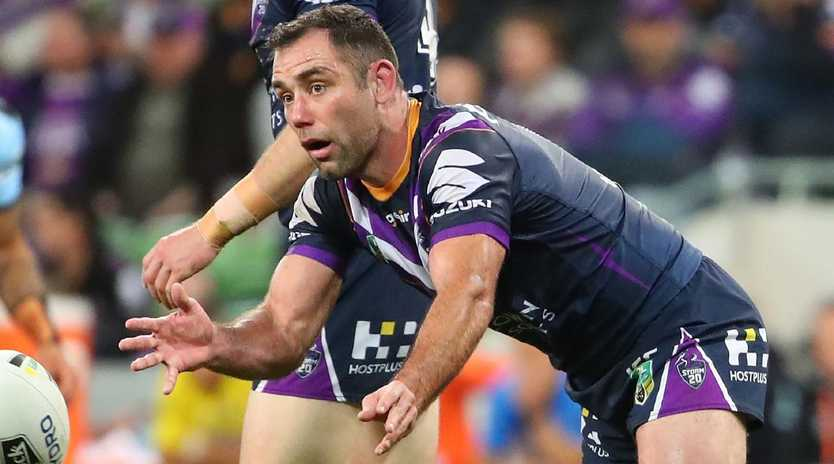Cameron Smith has hinted he may retire if the Storm win the grand final.
