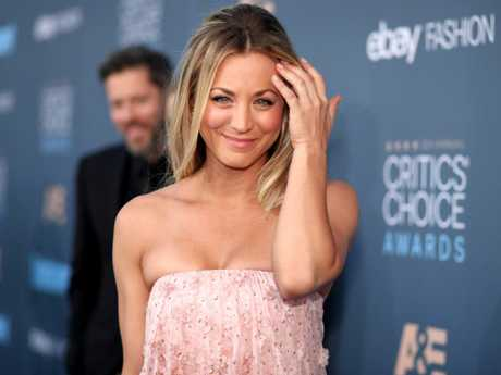 Kaley Cuoco's not quite ready for her time on the show to end. Picture: Getty