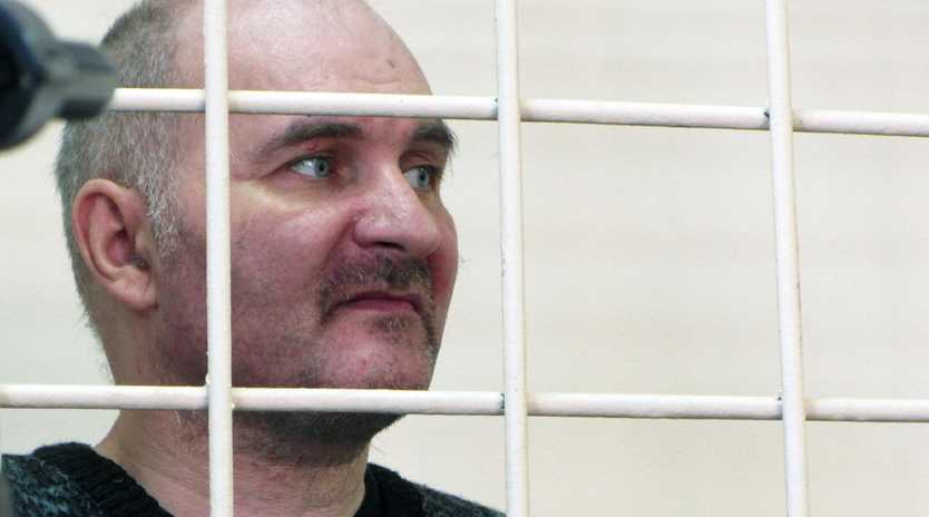 Anatoly Moskvin dug up 29 dead children from graveyards in Western Russia before bringing their bodies back to the flat he shared with his parents. Picture: East2West