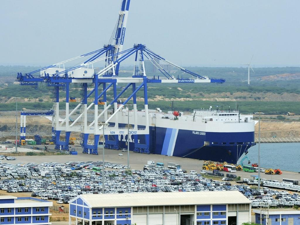Hambantota Port in Sri Lanka is an example of Beijing's debt-trap diplomacy. China has won a 99-year-lease on the facility, and a 70pc controlling stake in its management.