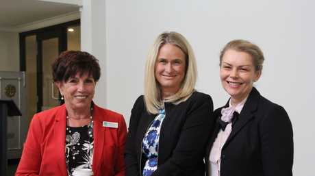 At the launch of the Toowoomba Women's Foundation are (from left) Toowoomba Deputy Mayor Carol Taylor, Toowoomba Hospital Foundation CEO Alison Kennedy and Zonta Club of Toowoomba Garden City president Kirsten Tydings.