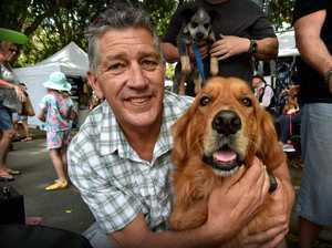 PTSD Dogs Gorden Dales with 'Mike'