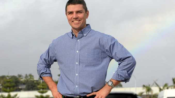 HOPING TO WIN: Matthew Fraser is running for pre-selection for the seat of Richmond.
