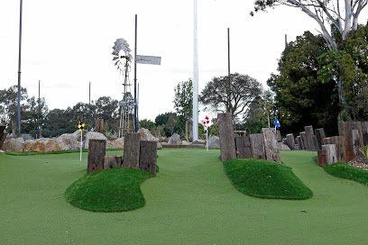 Maroochy River Golf Club is set to spend around $1million building a miniature golf course similar to this one at KDV Resort on the Gold Coast.
