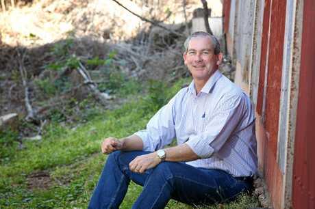 Gympie Mayor Mick Curran.