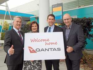 Taxiing toward Qantas Pilot Academy decision