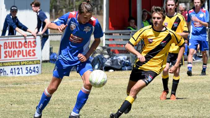 ON THE BALL: The Wide Bay Buccaneers will field six teams at next week's Joeys Mini World Cup.