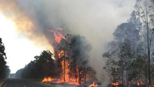 UPDATE: Road closure at Goodwood fire