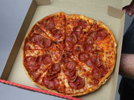 Pizza Hut's Pepperoni Lovers Thin n' Crispy pizza. Picture: Supplied