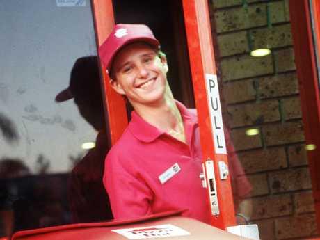 Pizza Hut Restaurant TV commercial featuring actor Diarmid Heidenreich (aka Dougie). Picture: Supplied