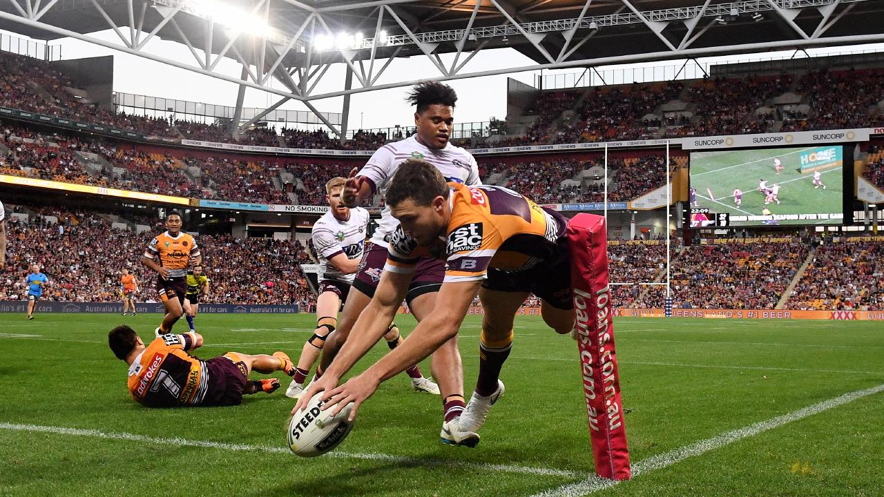 Corey Oates' preference is to remain a Bronco. Picture: AAP
