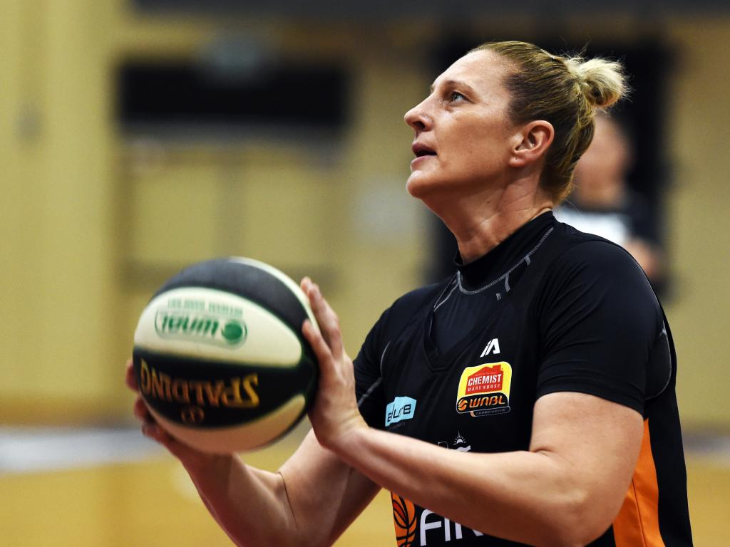 Townsville Fire training. Suzy Batkovic. Picture: Zak Simmonds