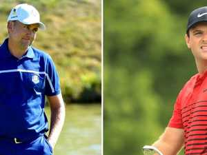 The two Ryder Cup stars embracing their villain roles