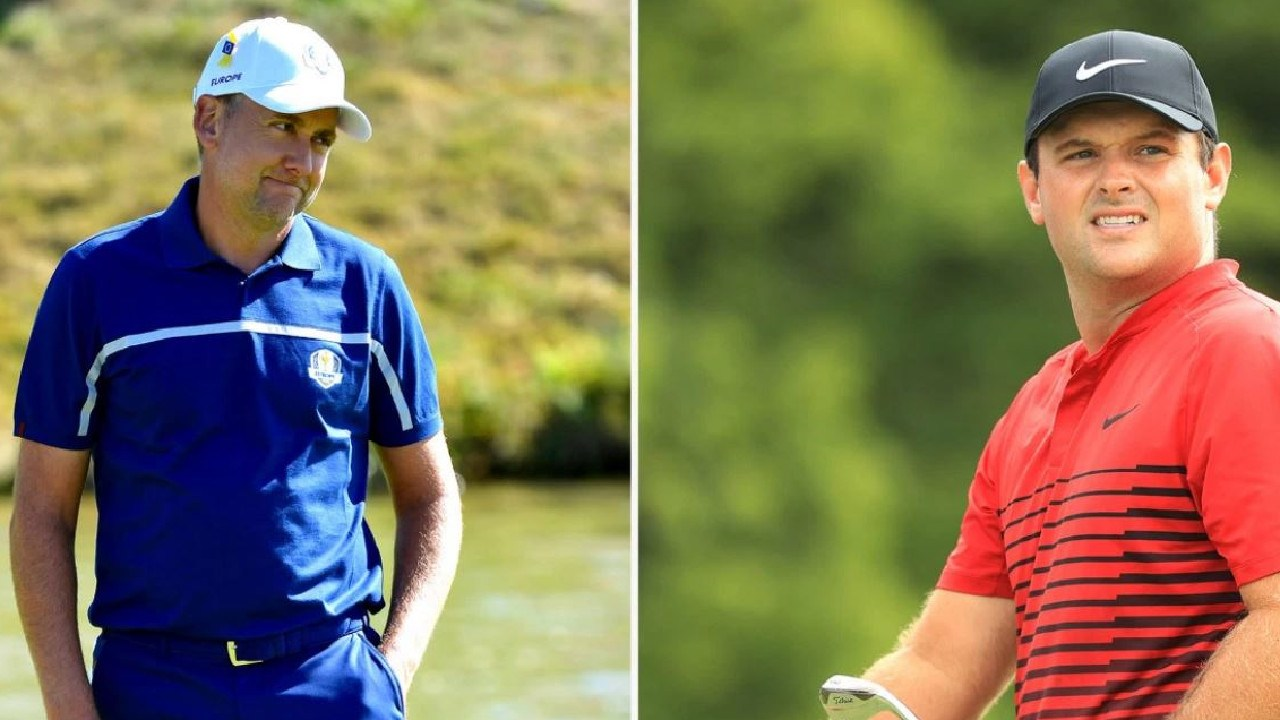 Ian Poulter and Patrick Reed.