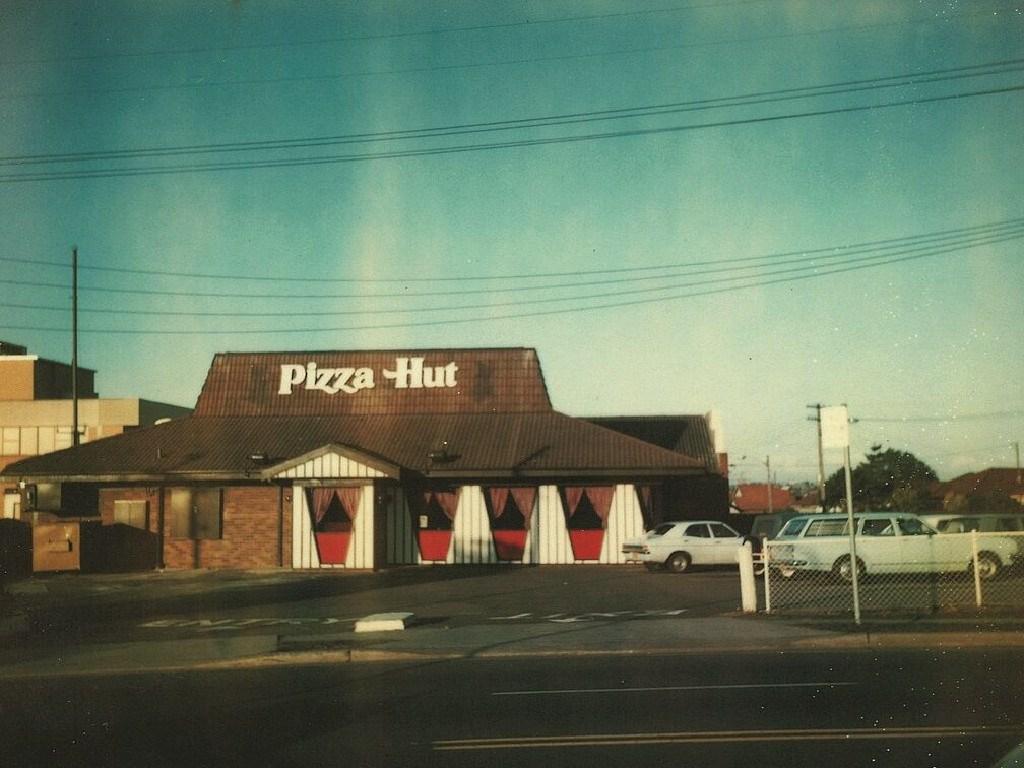 Australia's first Pizza Hut restaurant in Belfield, NSW. Picture: Supplied
