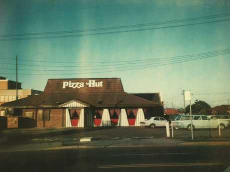 Australia's first Pizza Hut restaurant in Belfield, NSW. Picture: Supplied