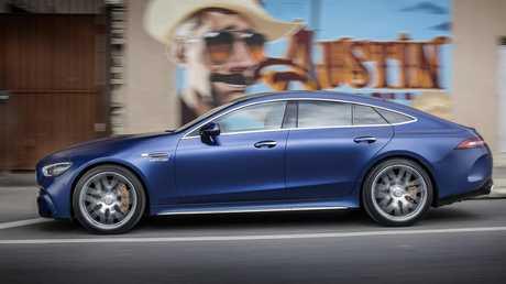 The 4-Door adds practicality to the AMG GT range.