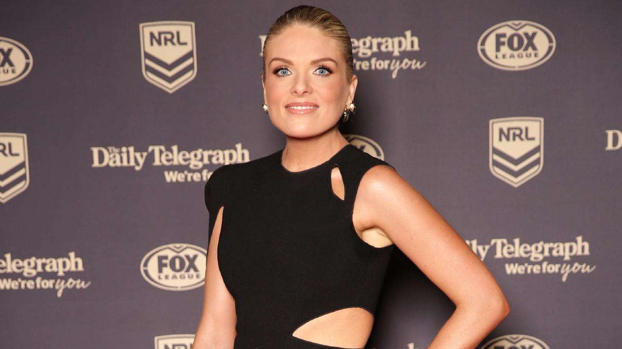 Erin Molan at the 2018 Dally M Awards. Picture: Christian Gilles