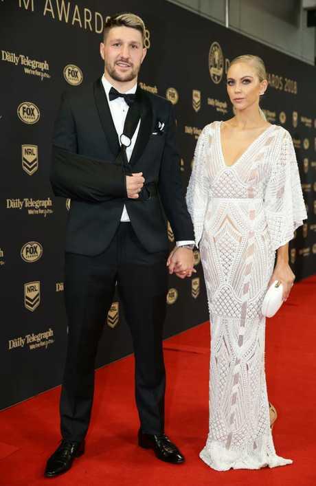 Gareth and Carley Widdop. Picture: Jonathan Ng