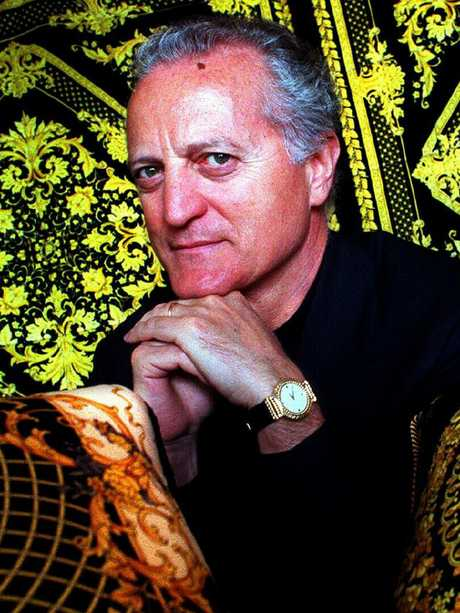 It's unclear what the sale means for Santo Versace who ran the business side of the brand. Picture: Supplied