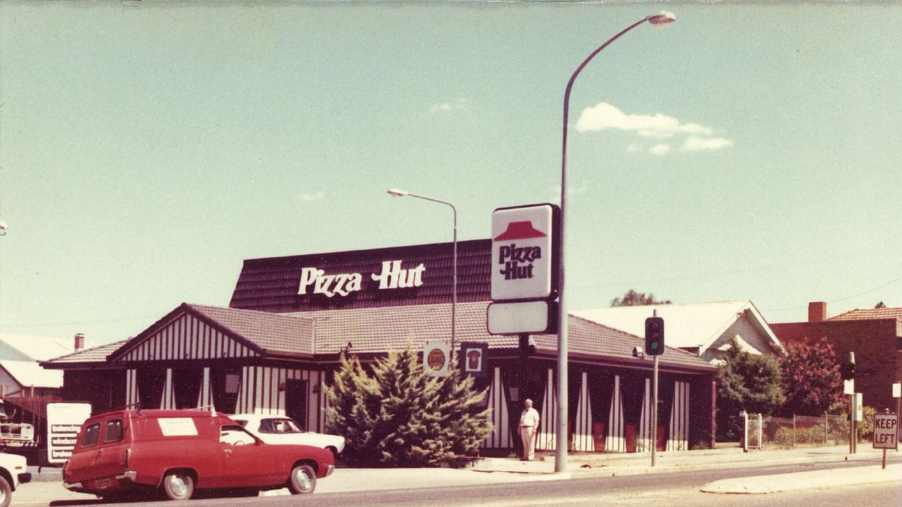 A Pizza Hut Restaurant in Tamworth, country NSW, in the 1970s. Picture: Supplied
