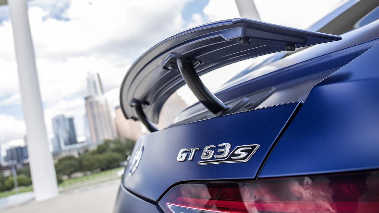 The 4-Door features active aerodynamics.