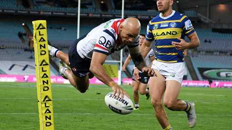 Blake Ferguson is among the competition's leading try-scorers.